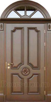 Арочная входная дверь на заказ