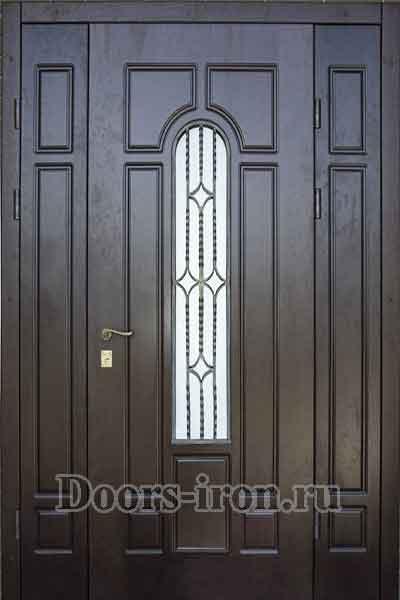 двери двустворчатые входные офисные со стеклом люберцы