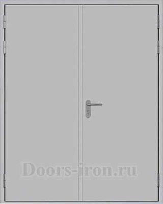 Двустворчатая огнестойкая дверь