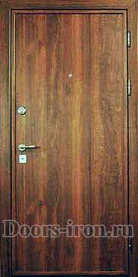 Ламинированная входная дверь