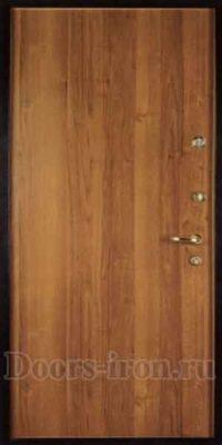 Простая в уходе металлическая дверь с ламинированной отделкой