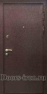 Дверь порошковое напыление — кожзаменитель