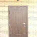 Уличная входная дверь с отделкой мдф ПВХ