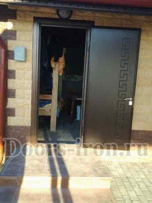 Стальная антивандальная входная дверь