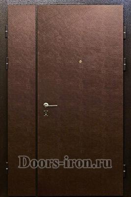 Дверь двустворчатая кожзаменитель