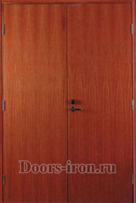 Дверь двустворчатая ламинат