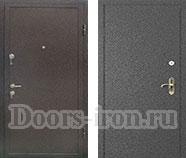 Входная дверь с порошковым напылением и МДФ пленка ПВХ