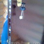 замки и ручка на дверь с порошковым напылением