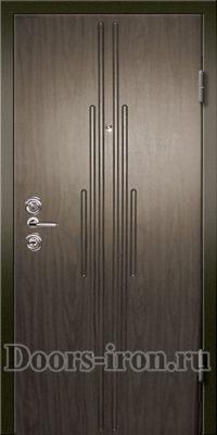 дверь МДФ шпон — ламинат