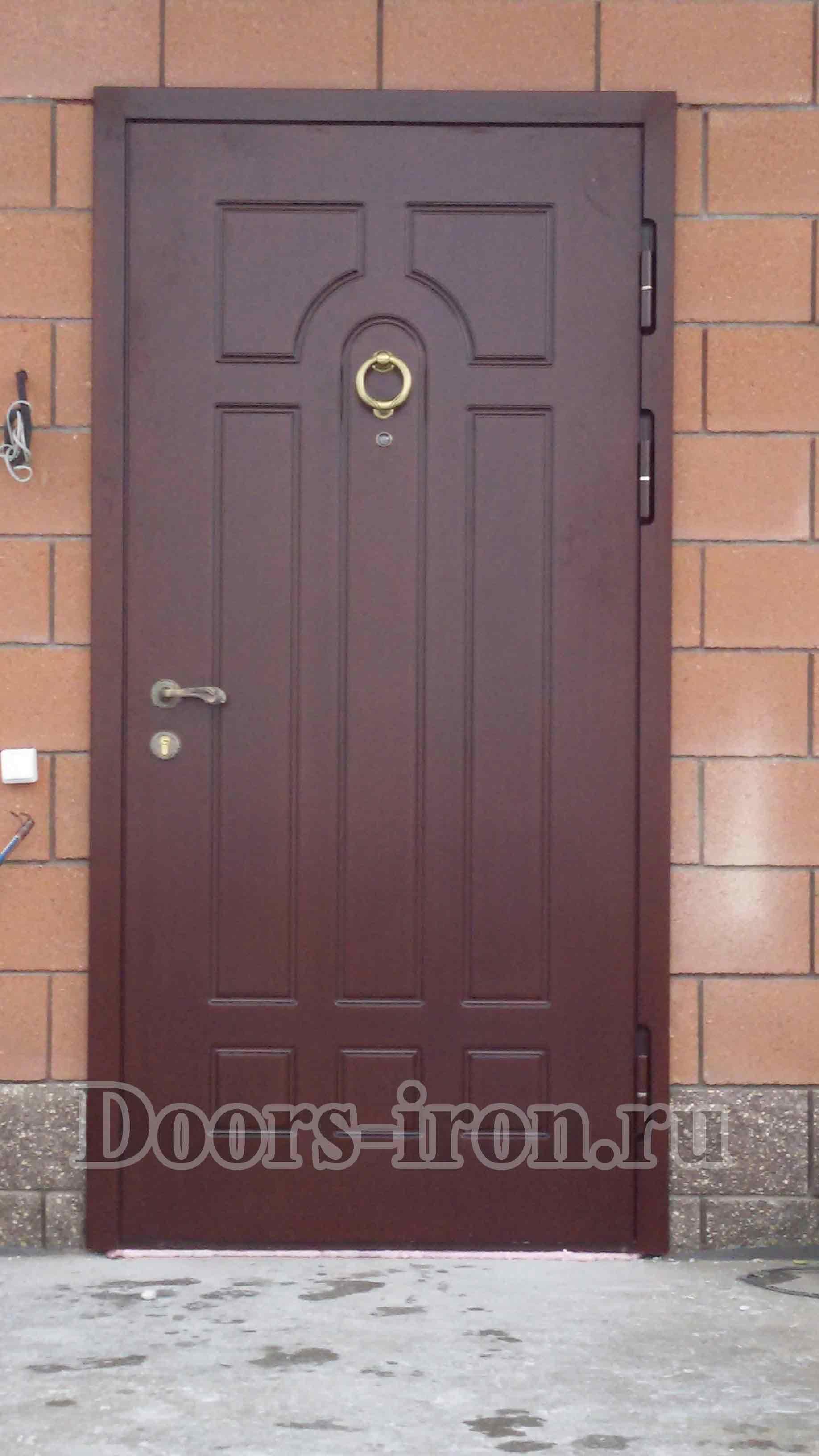 Входная металлисеская дверь МДФ