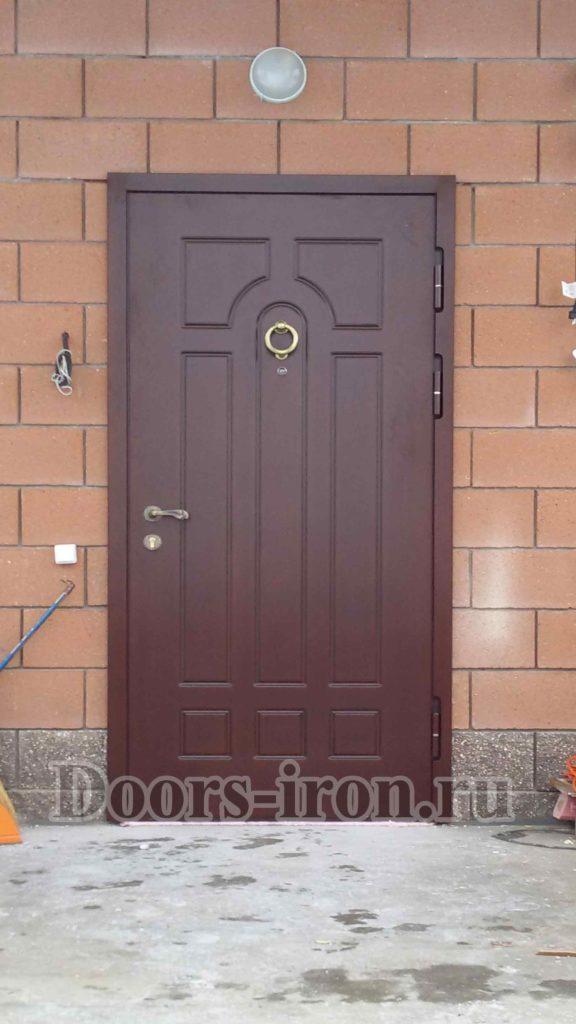 металлические входные двери для загородных домов купить