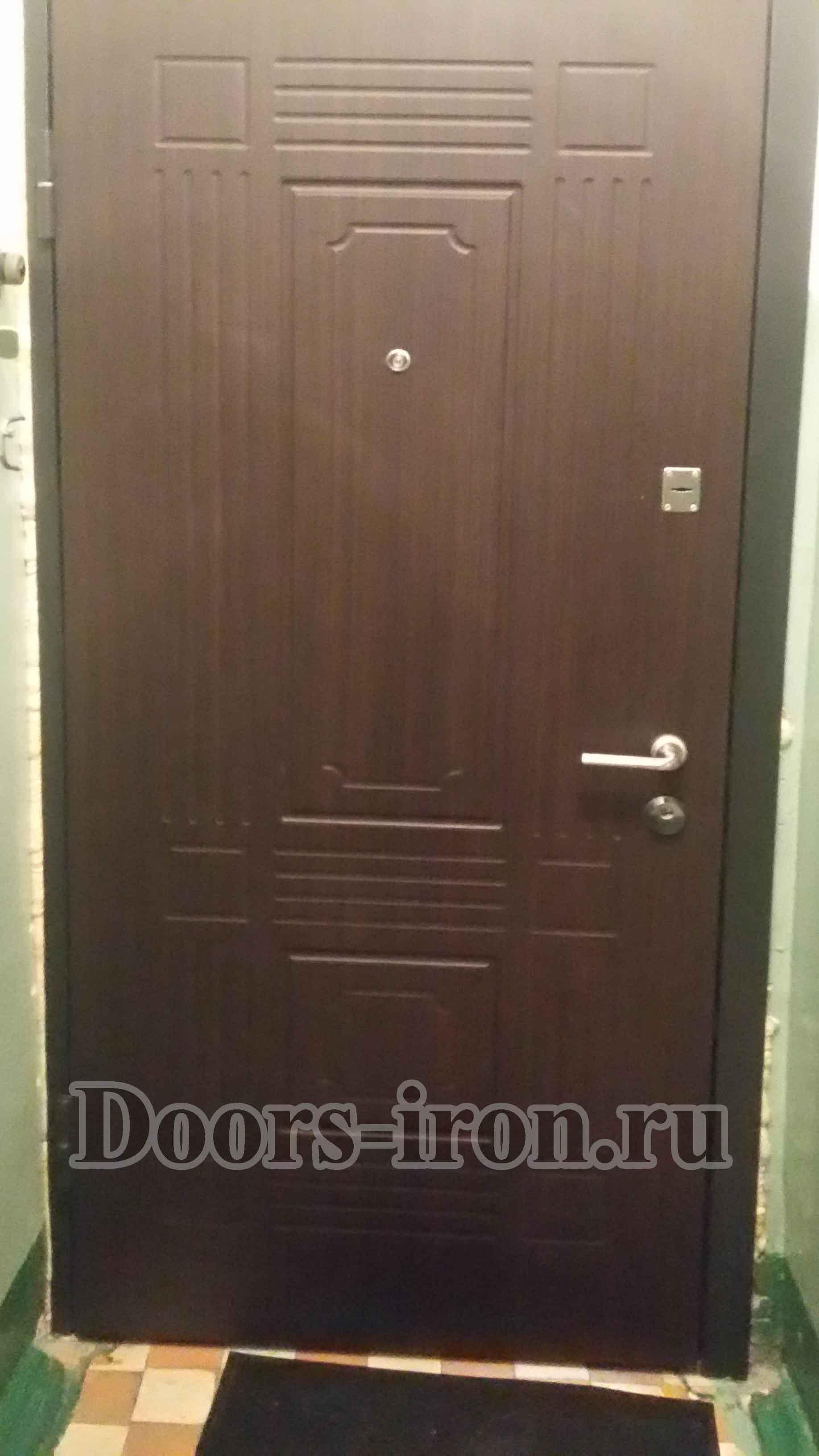 Дверь порошковое напыление — массив дуба
