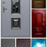 Рис. 1 Двери с различной отделкой