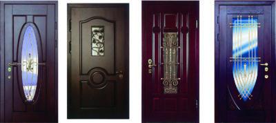 входные стальные двери со стеклом