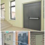 Рис. 2 Разновидности технических дверей