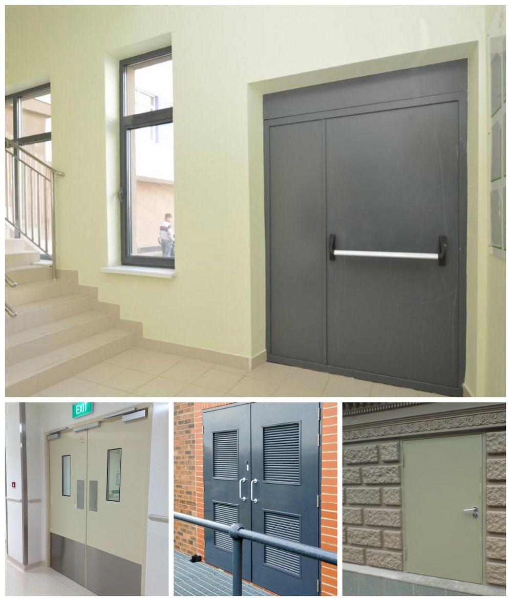 цена на технические металлические двери