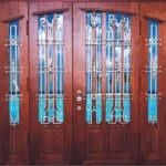 Рис. 4 Комплексные парадные двери