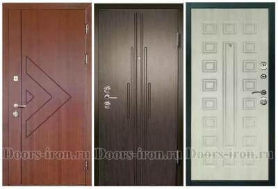 Двери с отделкой МДФ-пленка