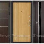 Рис. 7 Двери с отделкой МДФ молдинг