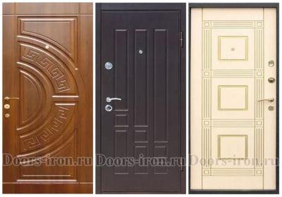 Двери с отделкой МДФ-шпон