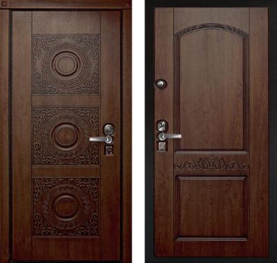 Входные двери массив Ясеня
