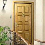 Рис. 1 Входная дверь для квартиры