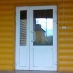 Рис. 3 Входная дверь ПВХ