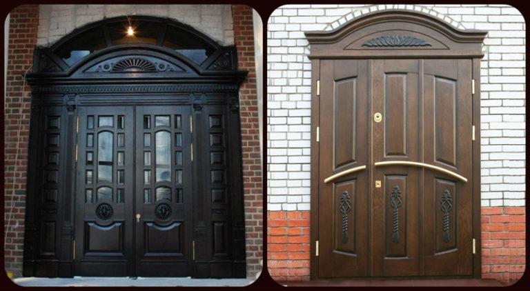 элитные двери входные в загородный дом