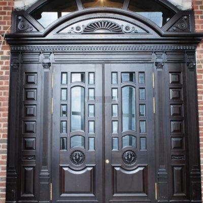 входные двери в котельную в коттедже
