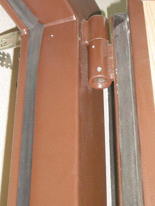 уплотнение стальную дверь