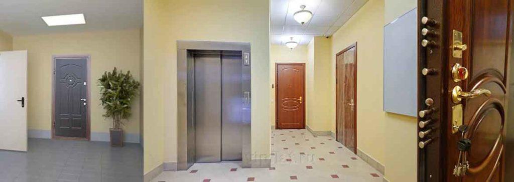 Металлические входные двери в квартиру.