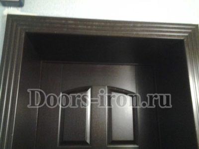 Наличники фигурные на входную дверь