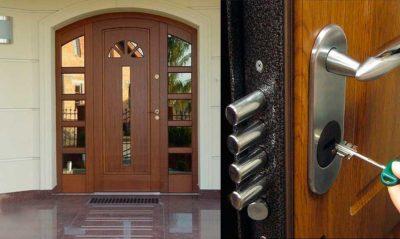 Элитная полуторная входная дверь со стеклом