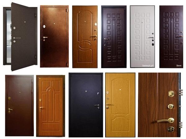 двери железные стальные входн