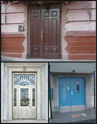 Входные двери в подъезд