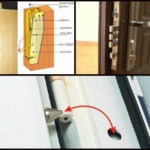 Рис. 1 Защитное оснащение металлических дверей