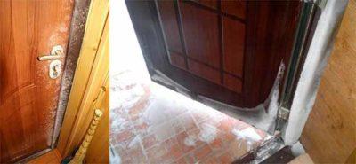 Дверь металлическая без терморазрыва