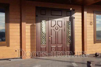 стальная дверь для коттеджа