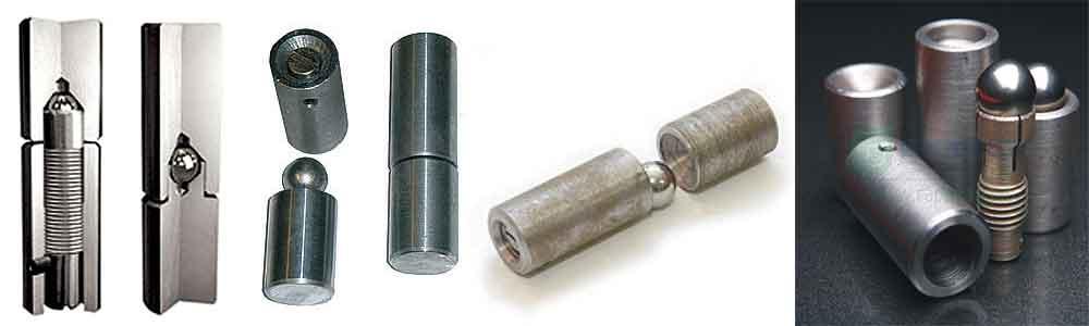 Безосевые петли для стальных дверей