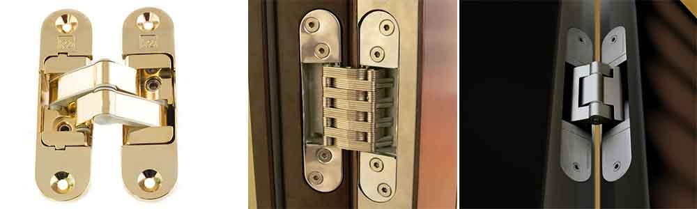 Скрытые петли для входных дверей