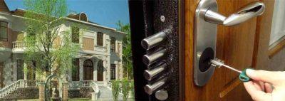 Стальная дверь в коттедж