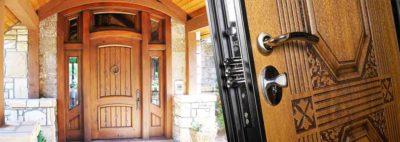 Входные двери для дома на заказ