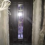 Арочная металлическая дверь с отделкой мдф