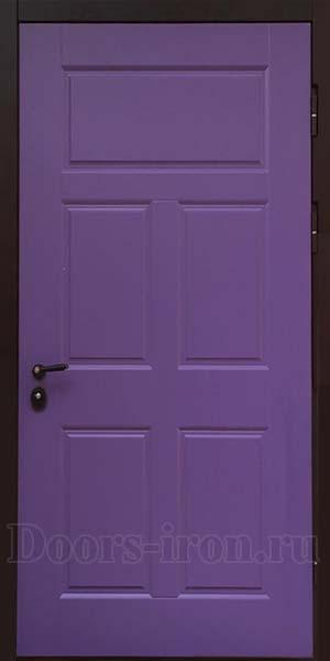Филетовая входная дверь