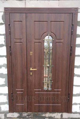 Входная дверь для газосиликатного дома