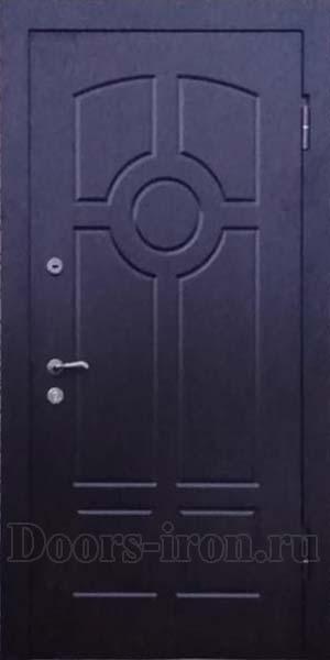 Входная стальная дверь с отделкой мдф