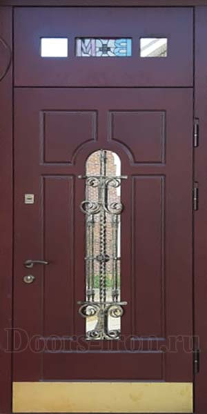 Входная дверь с зеркалом на заказ
