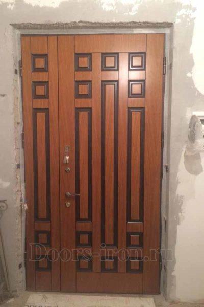 Расширенная входная дверь с отделкой мдф