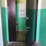 Тамбурная дверь с замком автоматического запирания