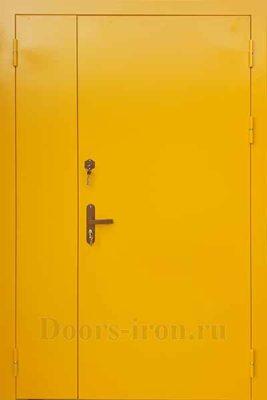 Двустворчатая дверь внутренняя противопожарная